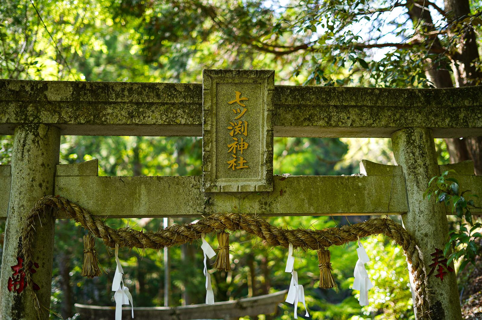 高知市内、七ツ淵神社にハイキング行って来ました。