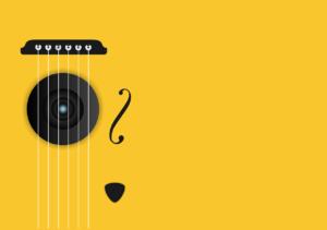 黄色いギター