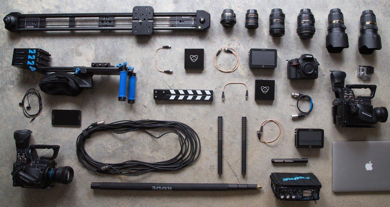 カメラ 装備 テクノロジー