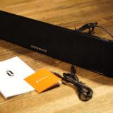 お家のリスニング環境を三千円台でグレードアップ?〜BluetoothサウンドバーTaoTronics TT-SK028でご機嫌!お家サウンド!