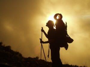 トレッキング 登山 高い目標