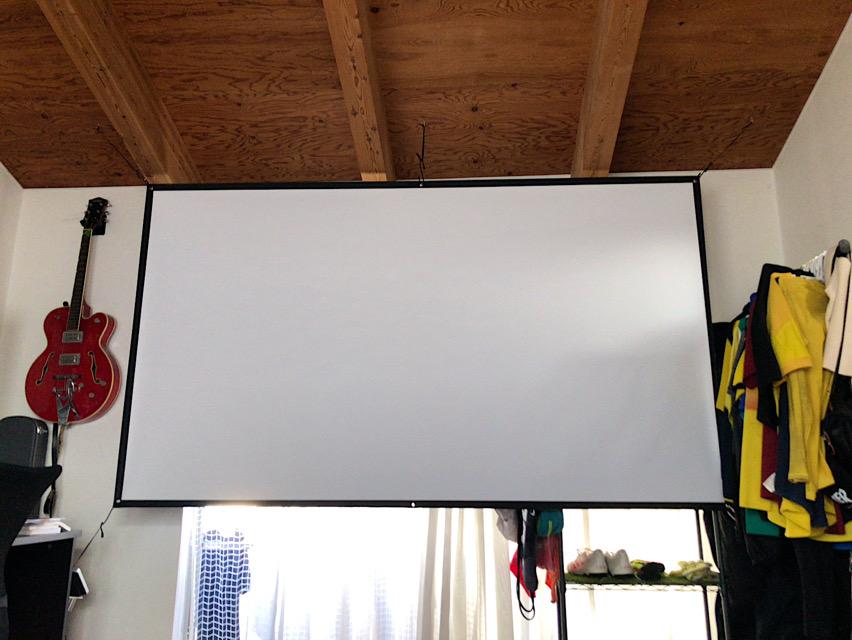 スクリーン設置