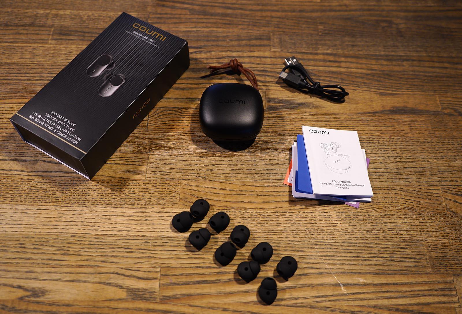 coumi-anc860 ワイヤレスイヤホン