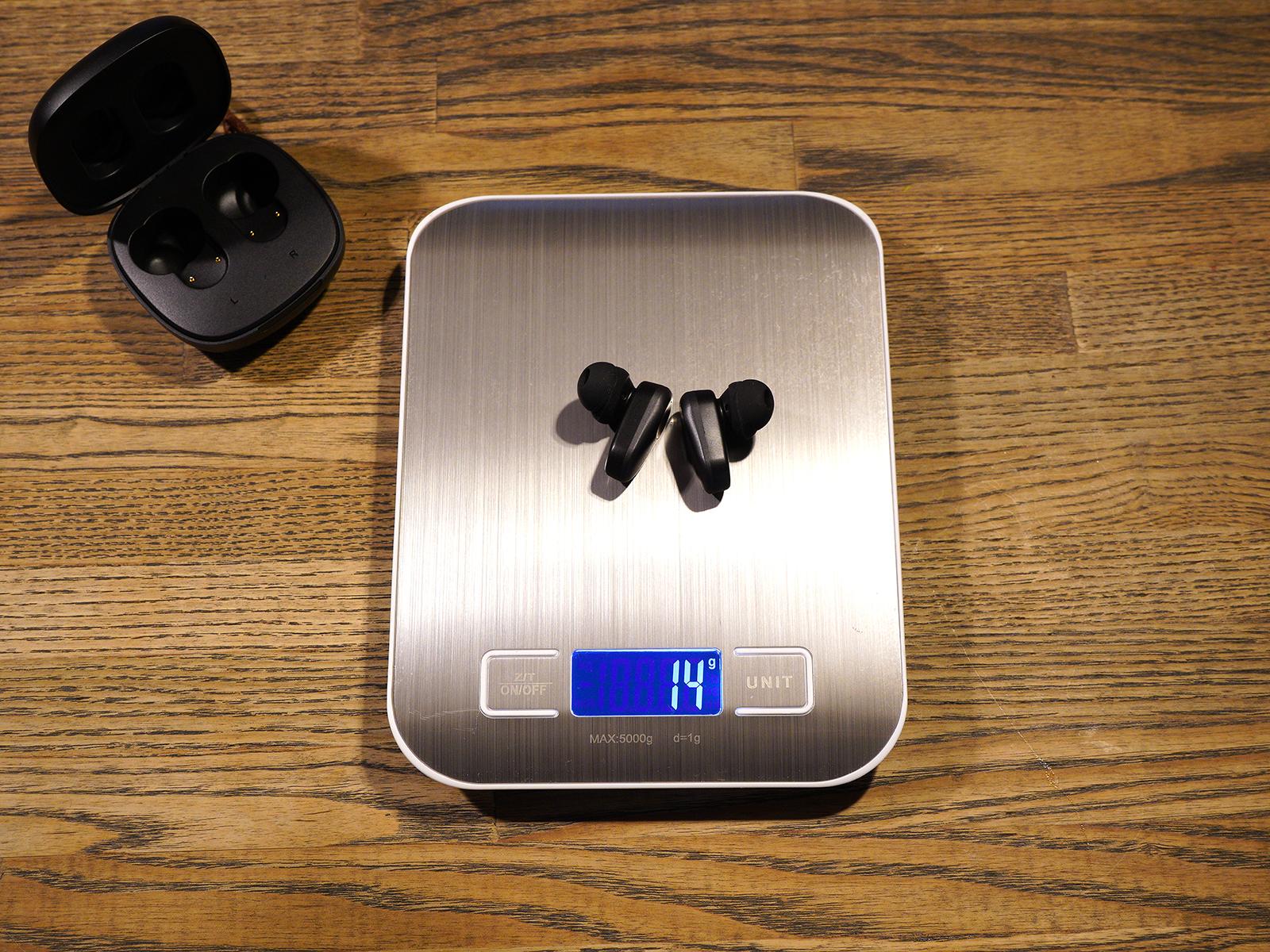 coumi-anc860 ワイヤレスイヤホン 本体 重さ