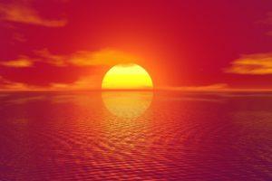 太陽 サンセット