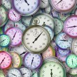 時の流れ 時計 時間