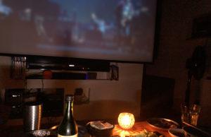 オンライン・ライブと蝋燭の明かり