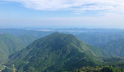 高知市中心部から車で30分程度、思いつきで手軽に登山に行ける山『雪光山(国見山)』
