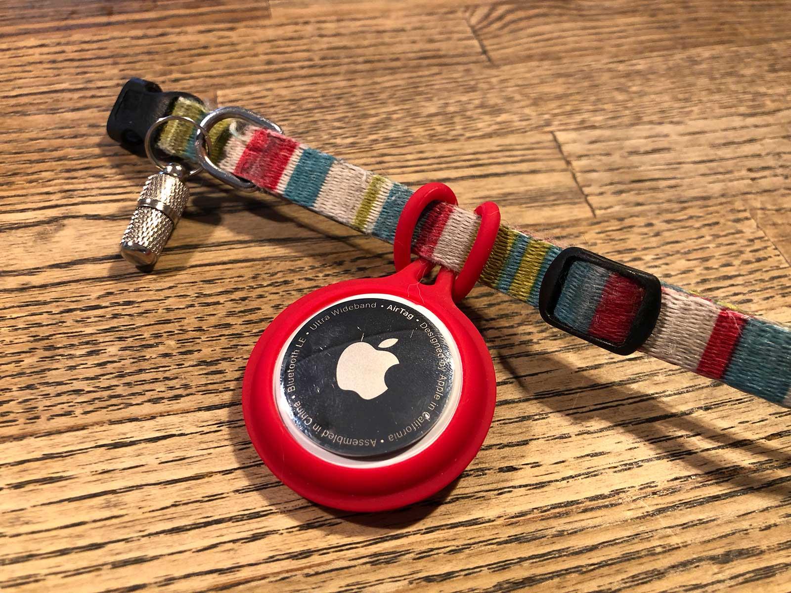Apple AirTagペット用ケース