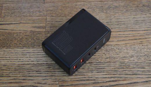 Baseus 急速充電器CCGAN100US〜100W高出力に4ポートを備えたマルチな急速充電器があなたのガジェット・ライフをスマート&パワフルにサポート